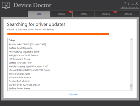 Device Doctor Screenshots